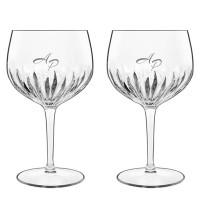 2 stk. Bormioli Gin & Tonicglas med eget design/monogram