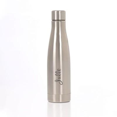 Naked Steel Eau Bottle med gravering