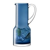 Blå glaskande UDEN gravering