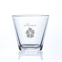Urtepotteskjuler, glas med eget design/monogram