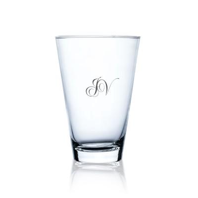 Konisk vase med eget design/monogram