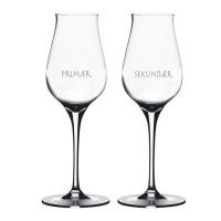 2 stk. Spiegelau Digestif glas med eget design/monogram