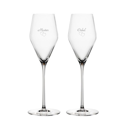 2 stk. Spiegelau Definition Champagne med gravering