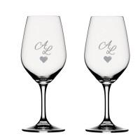 2 stk. Spiegelau Portvinsglas med eget design