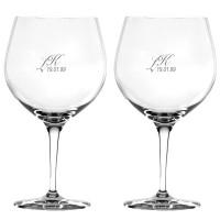 2 stk. Spiegelau Gin & Tonicglas med eget design/monogram