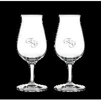 2 stk. Spiegelau Snifter glas med eget design/monogram