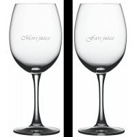 2 stk. Bordeaux med Fars / Mors juice graveret
