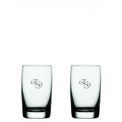 2 stk Soiree juiceglas med eget design/monogram