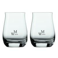 2 stk. Whiskytumbler med eget design/monogram