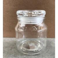 Krydderi glasdåse med gravering