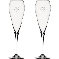2 stk. Spiegelau Willsberger Anniversary champagne med gravering